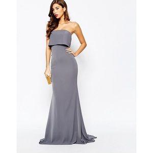 ♢ ♢ ♢JARLO Blaze Maxi Dress in Gray ♢ ♢ ♢